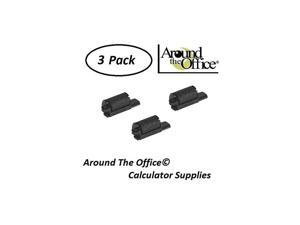 Compatible Package of 3 Individually Sealed Ink Rolls Replacement for Casio HR8TM Calculator