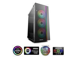 ATX Mid Tower 3pcs AddRGB Cooling Fan preInstallSupport EATX MB Cases MATREXX 55 ADDRGB 3F