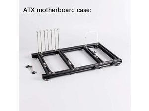 ITX MATX ATX PC Test Bench Open Air Frame Overclock Case Computer Mount Aluminum Chassis for HTPC Graphics Card