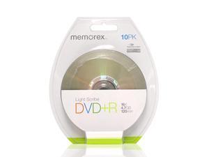 120 min sp47 GB DVD+R 16x Light Scribe 10Pack