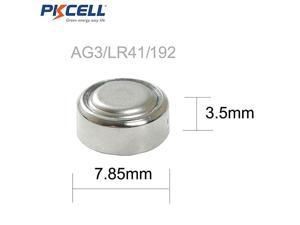 AG3 1.5V Battery LR41 392 384 192 Button Alkaline Cell for Digital Thermometer- 5Count