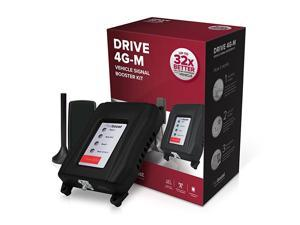 Drive 4GM 470121 Cell Phone Signal Booster for Your Car Truck Verizon ATT TMobile Sprint Enhance Your Cell Phone Signal up to 32x
