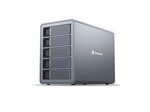 "Dual Bay Hard Drive Enclosure, Aluminum Alloy 2.5""/3.5"" USB3.0 to SATA3.0 External HDD SSD Storage Enclosure,Support 2 x 16 TB Capacity,Provide Flexible Storage[FS2U3]"