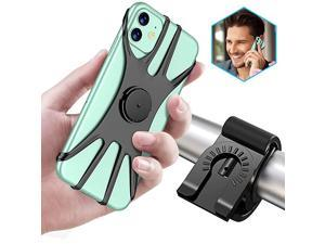 Detachable Bike Phone Mount 360 Rotation Adjustable Phone Holder for MotorcycleBicycle Handlebars Compatible with iPhone 12 Pro12 mini11 Pro Max11 Pro11XSXS MaxXR8 Samsung S20