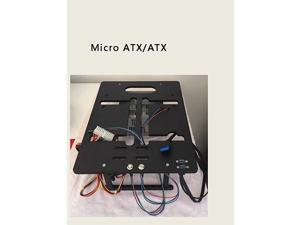Mini ITX MATX Micro ATX PC Test Bench Open Frame Water Cooling Aluminum Case DIY Bare Overclocking HTPC Support Graphics Card
