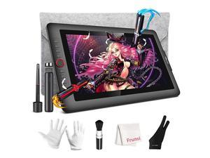 Monitor, XP-Pen Artist 15.6 Pro Monitor, Full-Laminated Display with 120% sRGB, 8192 Level Pen Tilt Function, Built-in Tablet Stand with Sleeve Case /Brush /Glove for Digital Artwork