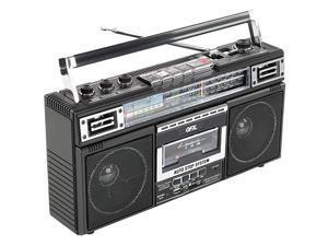 J220BT ReRun X Cassette Player Boombox with 4Band Radio MP3 Converter and Bluetooth
