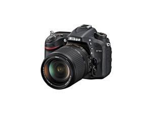 D7100 24.1 MP DX-Format CMOS Digital SLR Camera Bundle with 18-140mm and 55-300mm VR NIKKOR Zoom Lens (Black)