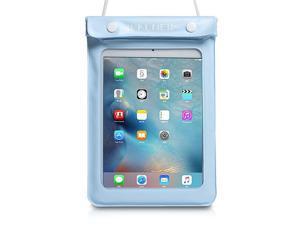 Universal Waterproof eReader Protective Case Cover for  Kindle OasisPaperwhiteKindle 2019KeyboardKindle Fire 7 Kobo TouchNook Simple Touch iPad Mini Lightblue