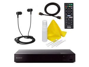 BDPS6700 4K Upscaling 3D Streaming Bluray Disc Player with Built in WiFi 5 Pack Kit Remote Control 5 Pc Cleaning Kit High Speed HDMI Cable Xtreme Ear Buds 1 Year Warranty