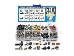 PC Computer Screw Standoffs Assortment Kit for Hard Drive Computer Case Motherboard Fan Power Graphics