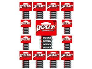 C2 AAA Batteries Super Heavy Duty Carbon Zinc Carded 24Pack of 4AAA= 96 Batteries