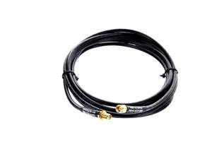 Straight SMA Male to SMA Female Antenna Extension Cable 30 ft Cnt-240 for Camera, Cell, Cellular Systems Andrew Commscope LMR240 Cnt240 Coax Cable Made in The USA
