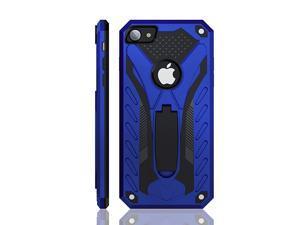 Designed for iPhone 7 CaseDesigned for iPhone 8 CaseDesigned for iPhone SE 2020 Case with Kickstand Military Grade 12ft Drop Tested Blue