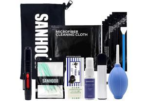 Camera Cleaning Kit for DSLR Cameras Sensor Cleaning and Lens Cleaning with Carry Bag for CanonNikonPentax APSCCamera