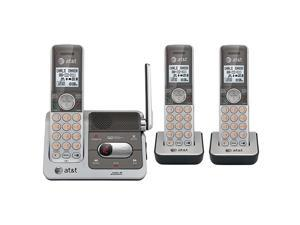 CL82301 DECT 60 Cordless Phone SilverGrey 3 Handsets