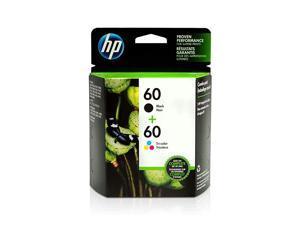 60 | 2 Ink Cartridges | Black Tricolor | CC640WN CC643WN