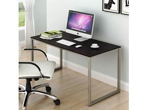 SHW Home Office 48Inch Computer Desk WhiteOak