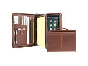 Business Portfolio for iPad Pro 12920182020 Professional Document Padfolio Organizer with Handle for Letter Size Notepad