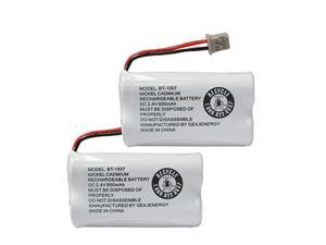 BT1007 BT-1007 BBTY0651101 Battery Compatible with BT904 BT-904 BT1015 BBTY0460001 BBTY0510001 BBTY0624001 BBTY0700001 HHR-P506, HHR-P506A Cordless Phone(2-Pack)