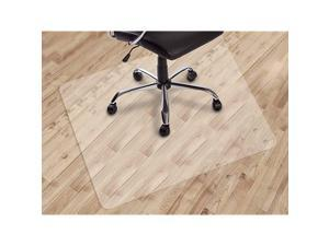 Office Chair mat for Hard Floors 30quot X 48quot Transparent Floor Mats Easy Glide for Chairs WoodTile Protection Mat for Office amp Home 30quot X 48quot Rectangle