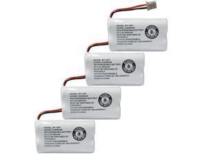 BBTY0651101 Battery Compatible with Uniden BT1007 BT-1007 BT904 BT-904 BT1015 BBTY0460001 BBTY0510001 BBTY0624001 BBTY0700001 HHR-P506, HHR-P506A Cordless Phone(4-Pack)