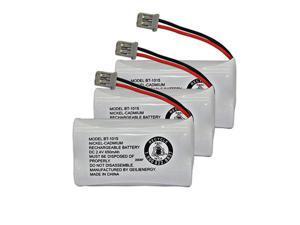 BT-1015 BT1015 Battery Compatible for Uniden BT1007 BT-1007 BT904 BT-904 BBTY0651101 BBTY0460001 BBTY0510001 BBTY0624001 BBTY0700001 HHR-P506, HHR-P506A Cordless Phone(3-Pack)