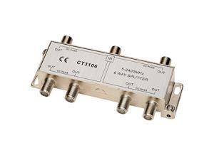 Tel CT3106 Coaxial 2.4 GHz 6-Way Splitter