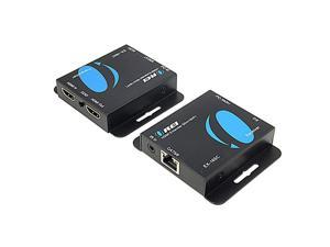 164-Feet HDMI Extender Over Single CAT5e/CAT6 up to 1080p, Full HD, Loop Out Option, with IR (EX-165C)