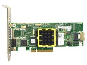 Adaptec ASR-2405 SAS SATA 4 port 3GB 8x PCIE 2405 RAID Adapter contorller raid