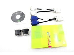 NVIDIA Quadro NVS 290 Graphics Card Cable Kit K332C CN-0K332C DL139A