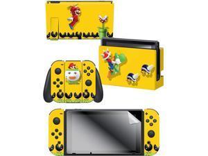"Controller Gear Nintendo Switch Skin & Screen Protector Set - Mario Maker ""Flight"" - Nintendo Switch"