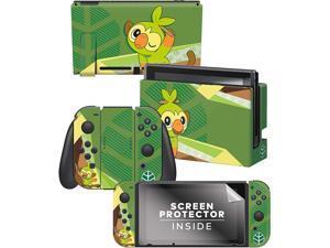 "Controller Gear  Nintendo Pokémon Switch Console Skin ""Grookey Set 1"""