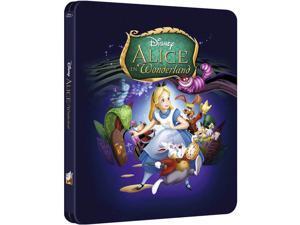 Alice In WonderlandBlu-Ray Limited Edition Steelbook [Region Free, Zavvi]