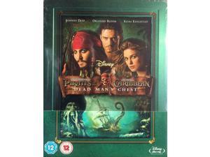 Pirates Of The Caribbean: Dead Mans ChestBlu-Ray Steelbook [Zavvi, Film]