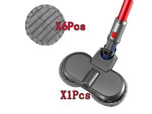 Electric Mopping Brush + Vacuum Cleaner Cleaning Cloth For Dyson V7 V8 V10 V11