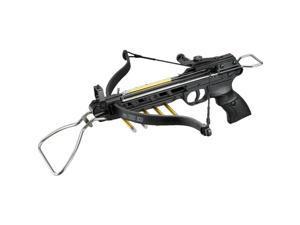 MINI HUNTING METAL 80 LB PISTOL CROSSBOW w/ BOLTS ARROWS QUIVER Archery Target