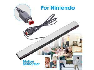 Wired Remote Motion Sensor Bar IR Infrared Ray Inductor for  Wii / Wii U