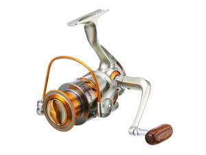 Large Spinning Reel Baitfeeder Saltwater Fast Surf Catfish Fishing 4000 12BB Arm