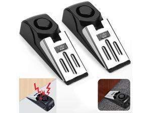2PCS Door Stop Alarm Home Travel Wireless Security Alert Portable Kits Hotel