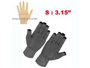 2X Copper Compression Gloves Medical Arthritis Pain Relief Hand Support Brace