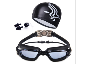 Professional Swimming goggles HD Anti-Fog 100% UV adjustable glasses belt swim goggle adult Waterproof prescription glasses