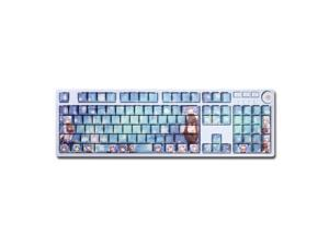 Anime Mechanical keyboard  Keycaps Genshin impact 108  Keycaps Full Set  DIY