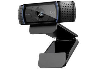 Logitech C920 Hd Pro Webcam (Black) Black