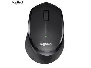 Logitech M330 Silent Plus Wireless Large Mouse -Black