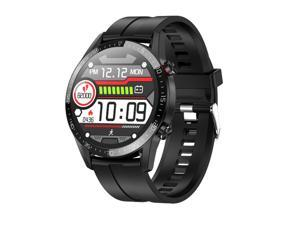 L13 Smart Watch for Men,IP68 Waterproof Smartwatch for iOS Android Phone,Heart Rate Fitness Tracker Sports Watch,Message Call Reminder - image 1   L13 Smart Watch for Men,IP68 Waterproof Smartwatch f