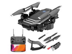 UAV 4K Aerial HD Pixel Dual Camera LS11 Remote Control Aircraft Foldable RC Drone 120° Wide Angle