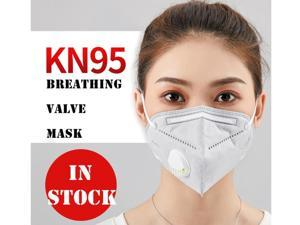 20 Pieces KN95 Mask JINJIANG Reusable Activated Carbon Mask 6 Layers N95 FFP2 with Breathing Valve & Unique Protective Layer Gray