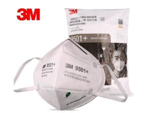 50 Pieces 3M N95 Mask 9501+ Ultra thin 4 Layers KN95 Mask FFP2 95% filter PM2.5 White