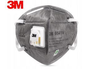 30  Pieces 3M N95 Mask  9541V KN95 Mask FFP2 Activated Carbon Masks 95% filter PM2.5 With Valve Respirator Gray